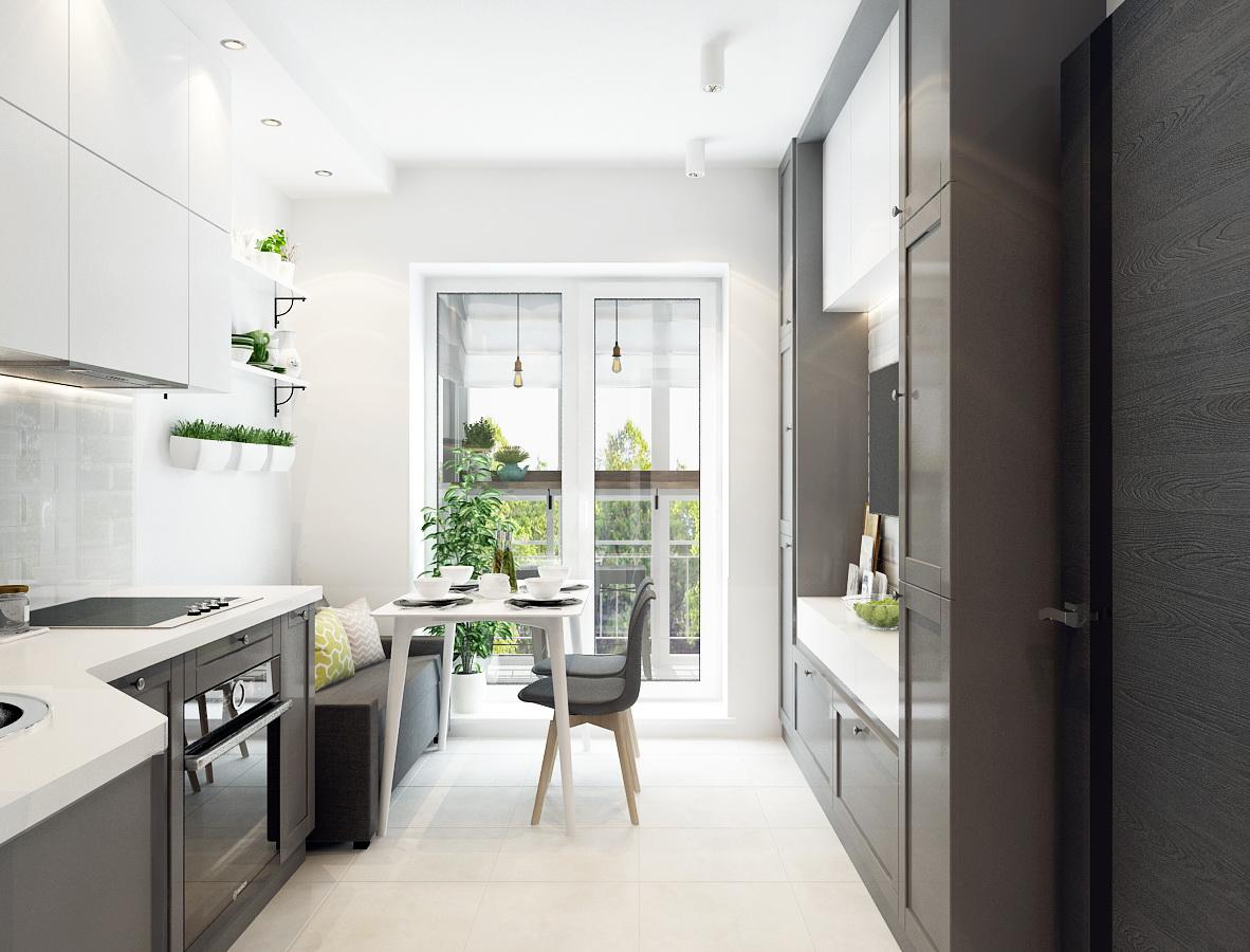 Дизайн — проект однокомнатной квартиры 49 кв.м. в Москве